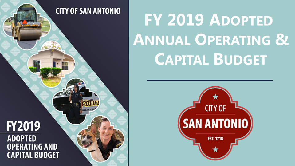 FY 2019 Adopted Annual Operating & Capital Budget