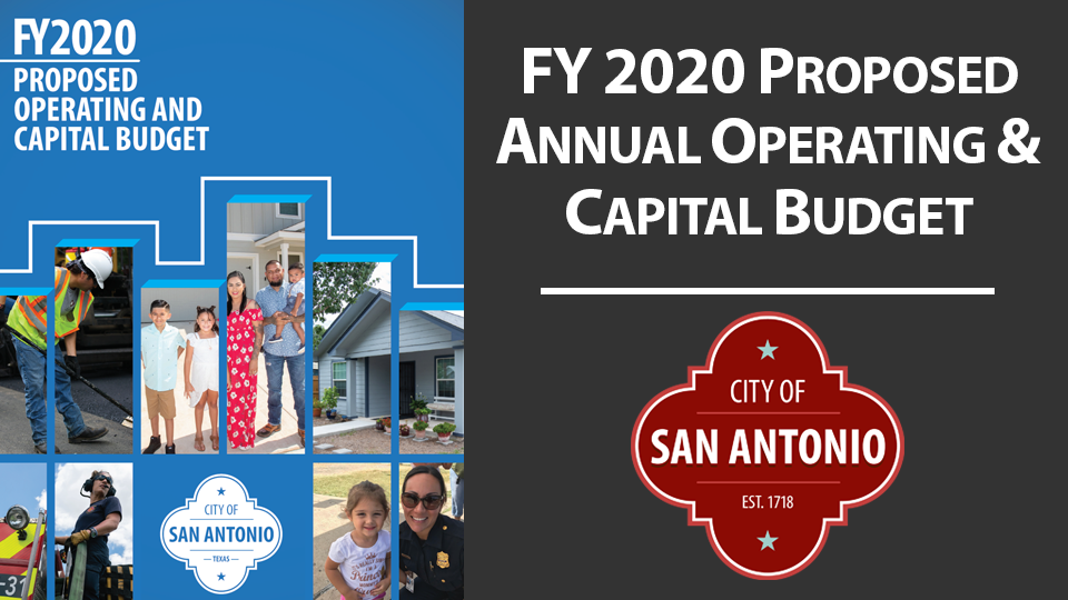 FY 2020 Proposed Annual Operating & Capital Budget
