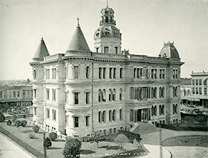 Historical image of City Hall