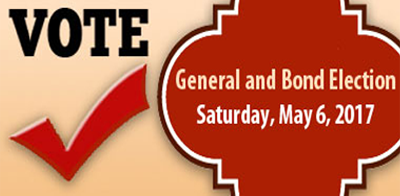 General and Bond Election • Saturday, May 6, 2017