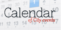 City Calendar of Events