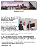 District 1 Newsletter - September 13, 2017