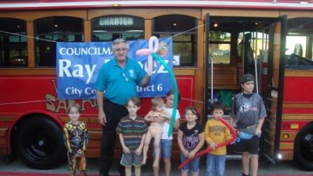 National Night Out-Trolley