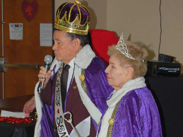 King and Queen of the Valentine Royal Court