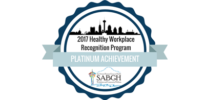 Healthy Workplace: Platinum Achievement