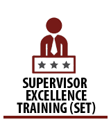 Supervisor Excellence Training (SET) Academy - Need to be on the COSA network to access this link.