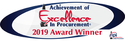 Achievement of Excellence in Procurement (AEP) Award
