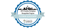 2018 Healthy Workplace Recognition Program - Platinum Achievement