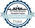 2017 Healthy Workplace Recognition Program: Platinum Achievement - SABGH Workplace and Community Wellness