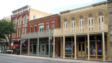 East Commerce Street buildings