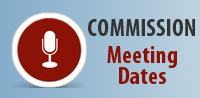 Commission meeting dates
