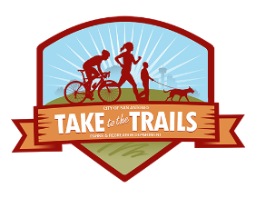 Take to the Trails logo