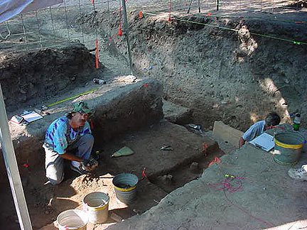 Test Excavations At The Chandler Site In Northwest Bexar County