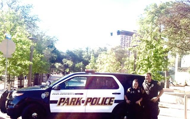 Officer Lopez and Officer Isbell on District Patrol.