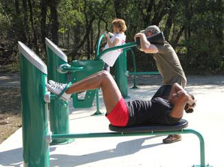 Fitness in the park san antonio