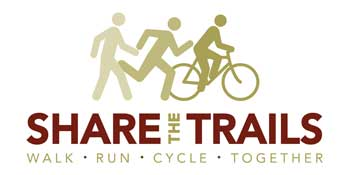 Share the Trails logo