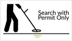 Link to metal detecting permits