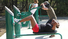 Link to parks with fitness stations