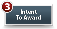 Intent To Award