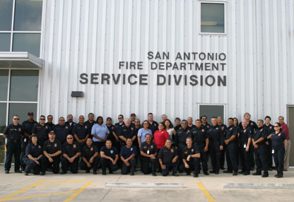 Services & Logistics Division Staff
