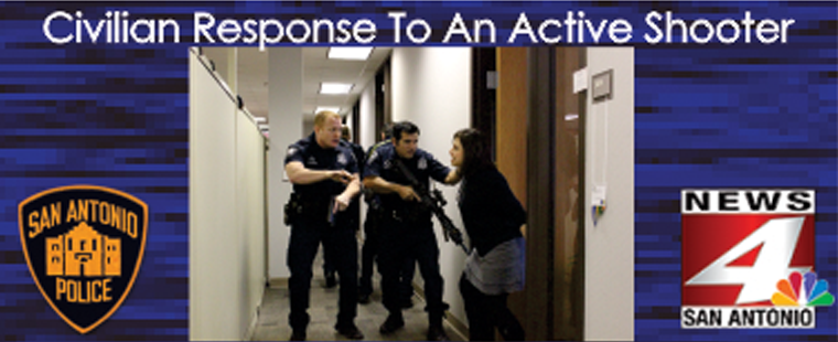 San Antonio Police Department-Civilian Response to Active Shooter