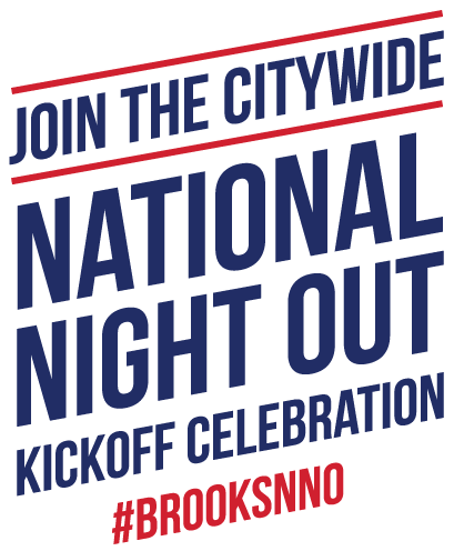 Join the Citywide National Night Out Kickoff celebration #BrooksNNO