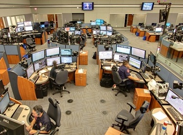SAPD Dispatcher Center