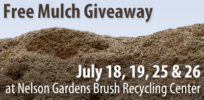 FREE MULCH GIVEAWAY