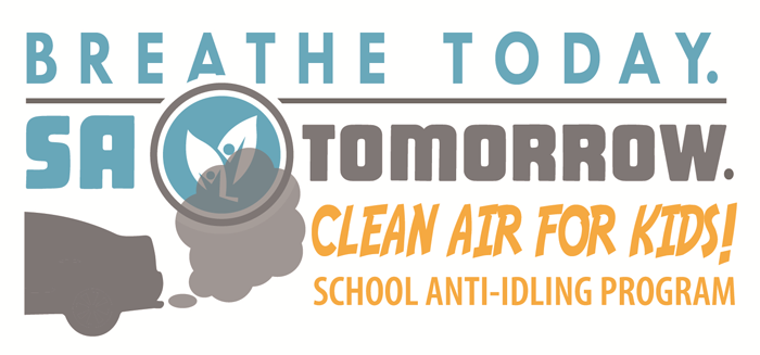 Breath Today. SA Tomorrow. Clean air for kids! School anti-idling program.