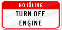 No-Idling Policy