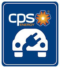 CPS Energy Electric Vehicle Charging Station Logo